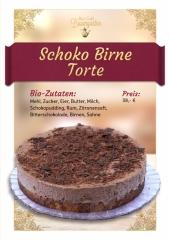 Schoko-Birne-Torte