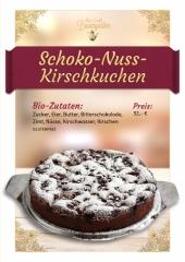 Schoko-Kirsch-Nusskuchen