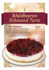 Waldbeere-Schmand